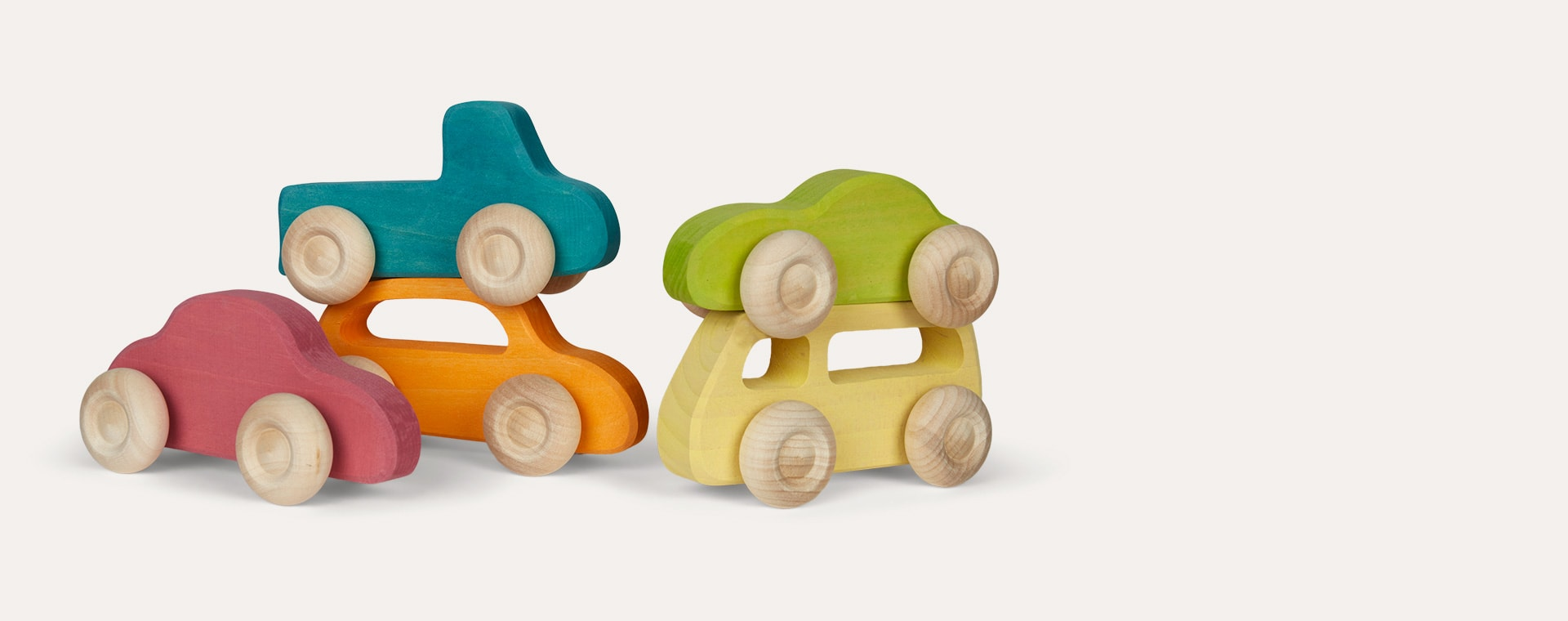 Multi Grimm's Wooden Cars