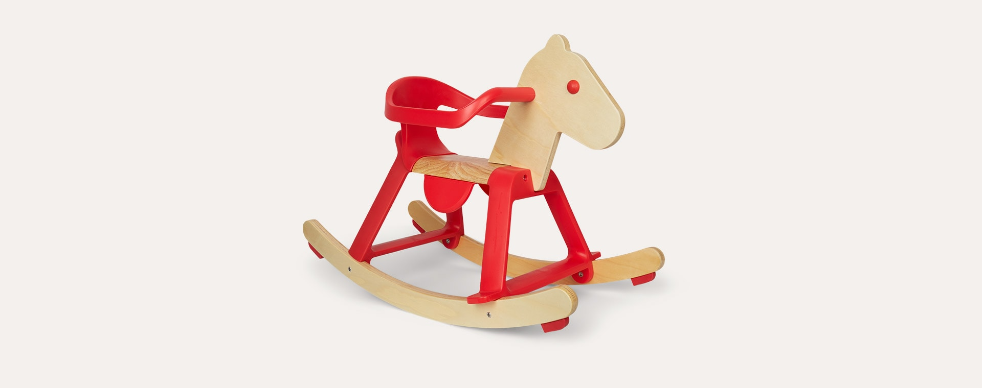 Red Djeco Rocking Horse