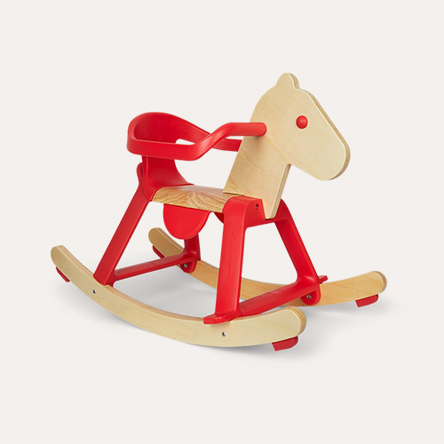 Red Djeco Rocking Horse
