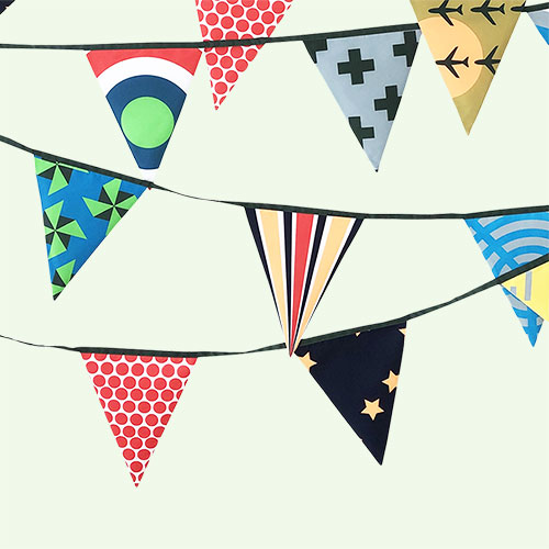 Cool Engel Bunting
