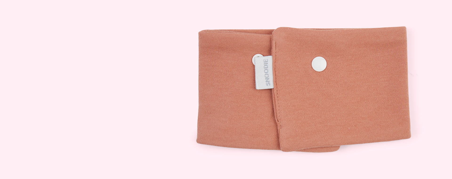 Dusty Pink Mama Designs Snoodie Dribble Bib