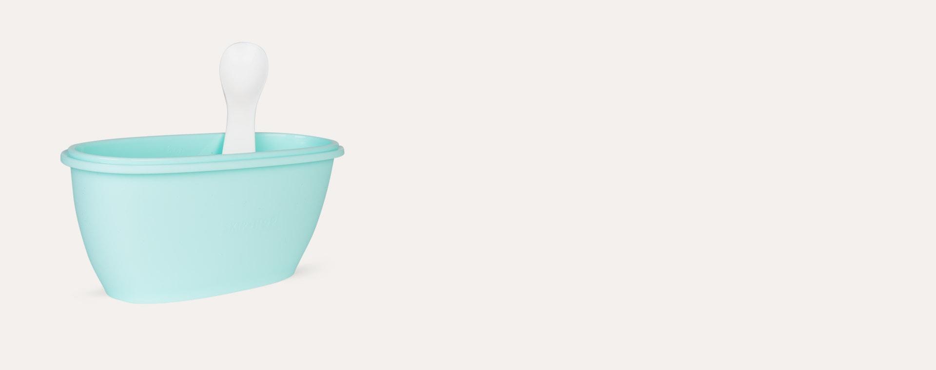 Mint Skip Hop Easy-Serve Travel Bowl & Spoon