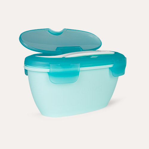 Mint Skip Hop Easy-Serve Travel Bowl & Spoon