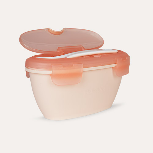 Soft Coral Skip Hop Easy-Serve Travel Bowl & Spoon