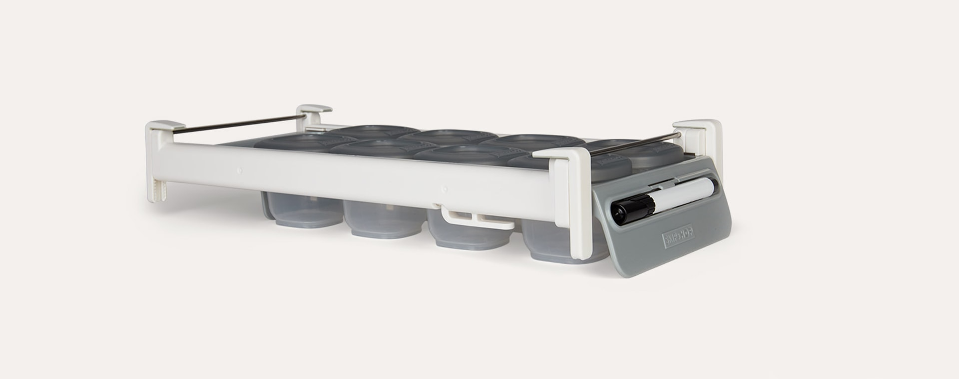 Grey Skip Hop Easy-Store Sliding Tray Set