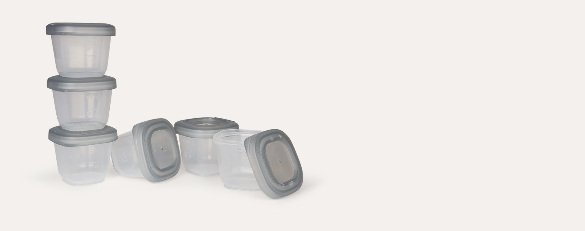 Grey Skip Hop Individual Containers 6 pack