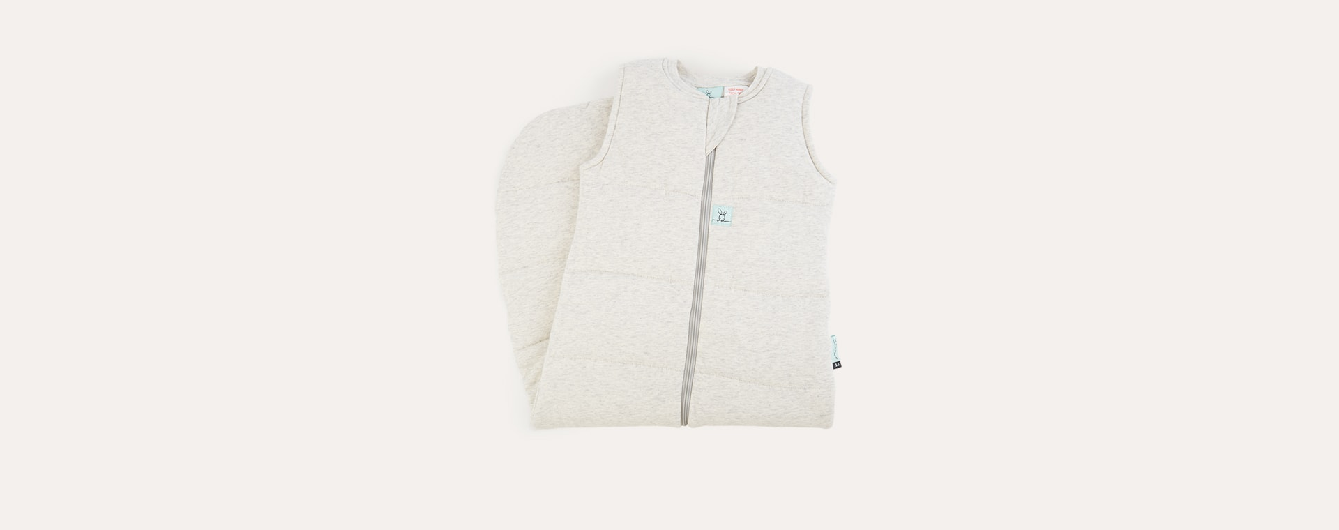 Grey Marle Ergopouch Jersey Sleeping Bag