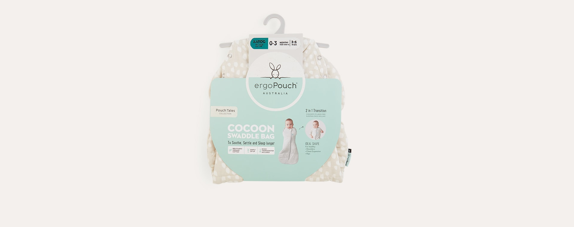 Fawn Ergopouch ergoCocoon Swaddle Bag 2.5 TOG