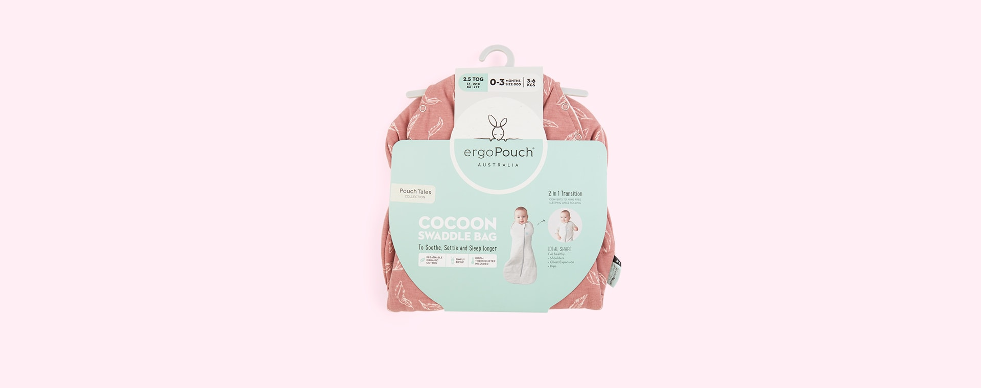 Quil Ergopouch Cocoon Swaddle Bag