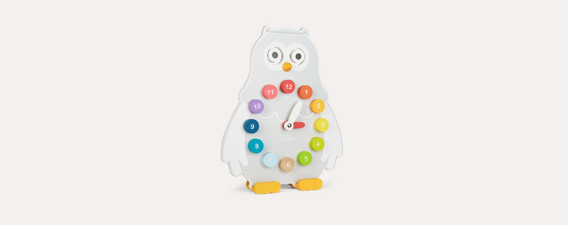 Multi Janod Owly Clock