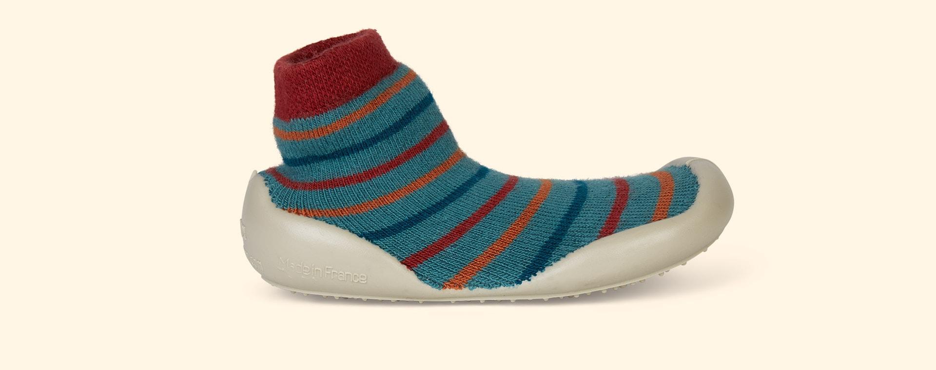 Green Collegien Charles Slipper Socks
