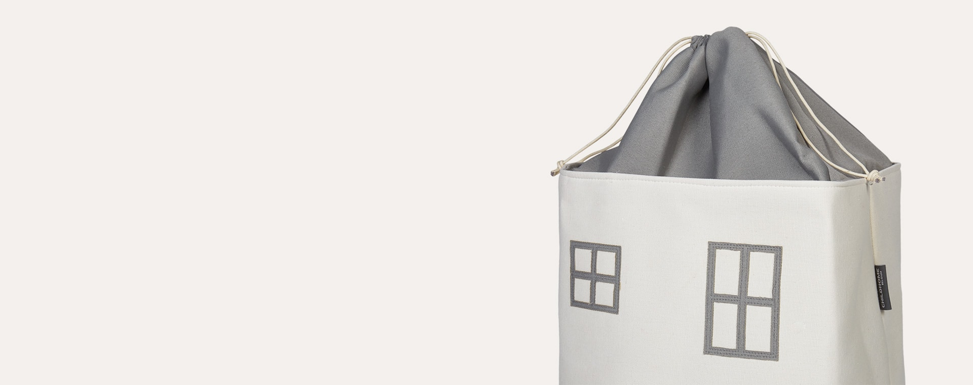 Grey Childhome Toy Box House Bag