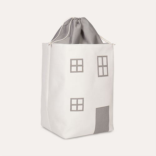 Grey Childhome Toy Box House Bag