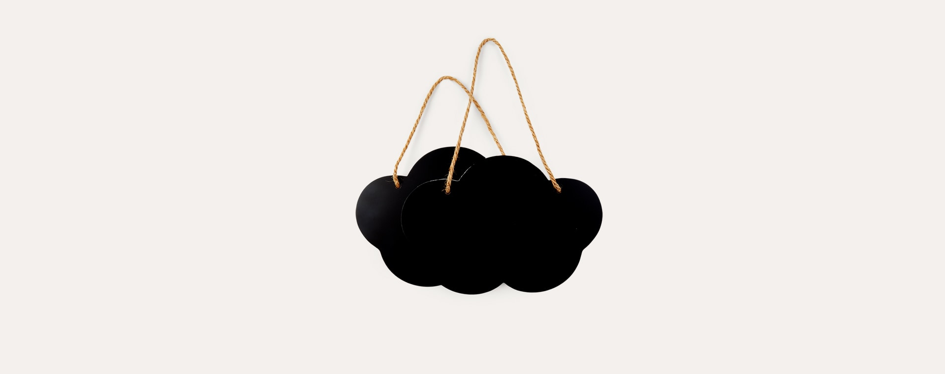 Black Childhome Cloud Chalkboard 2 Pack