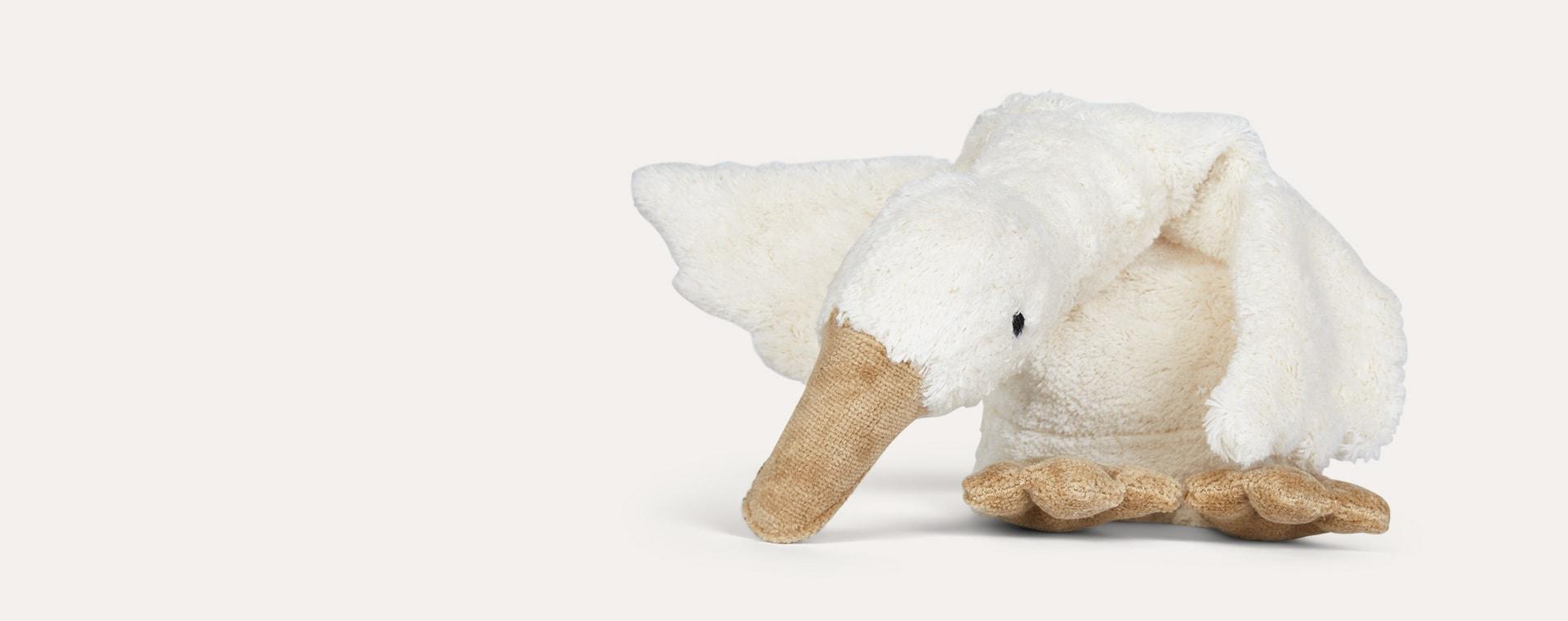 White Senger Small Goose