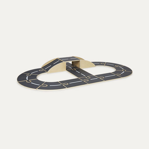 Grey Kid's Concept Wooden Track