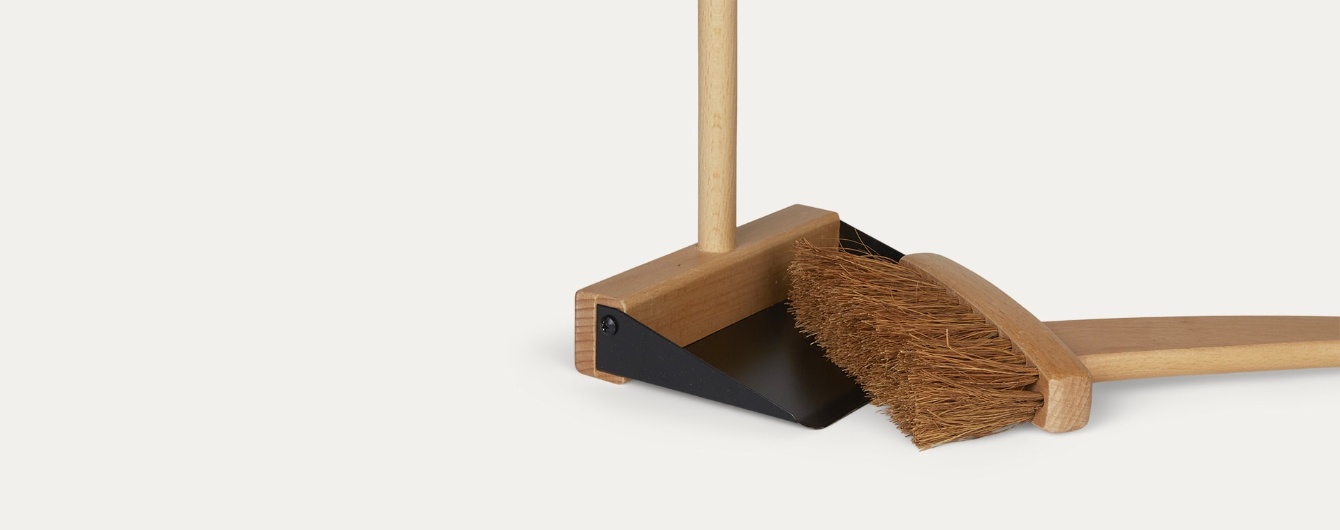 Neutral Kid's Concept Brush and Dustpan