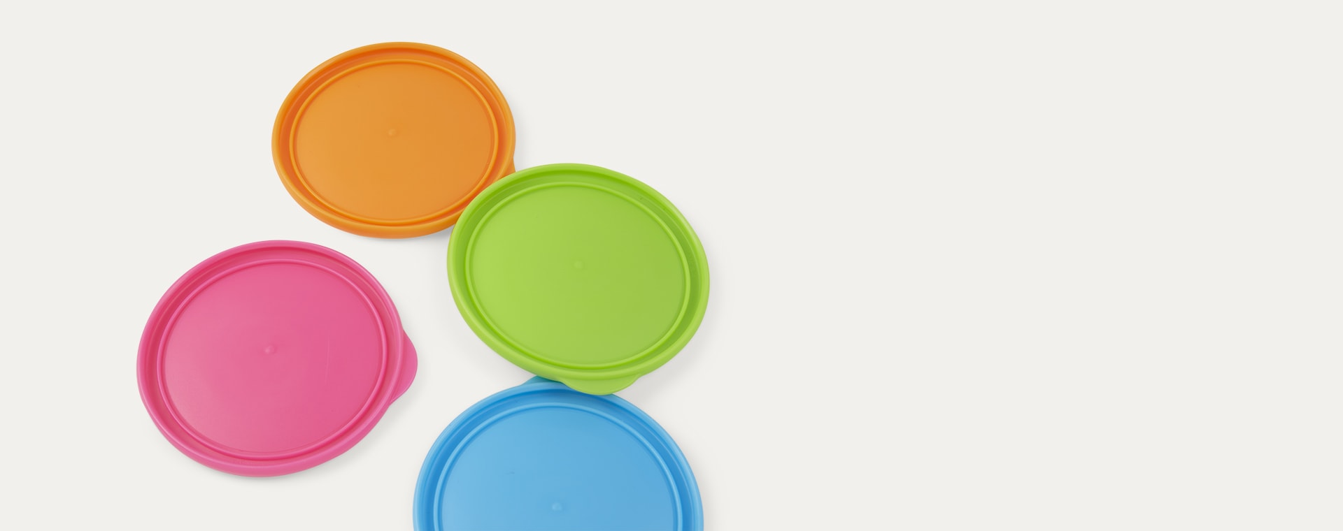 Multi Munchkin Miracle Cup Lids 4 Pack