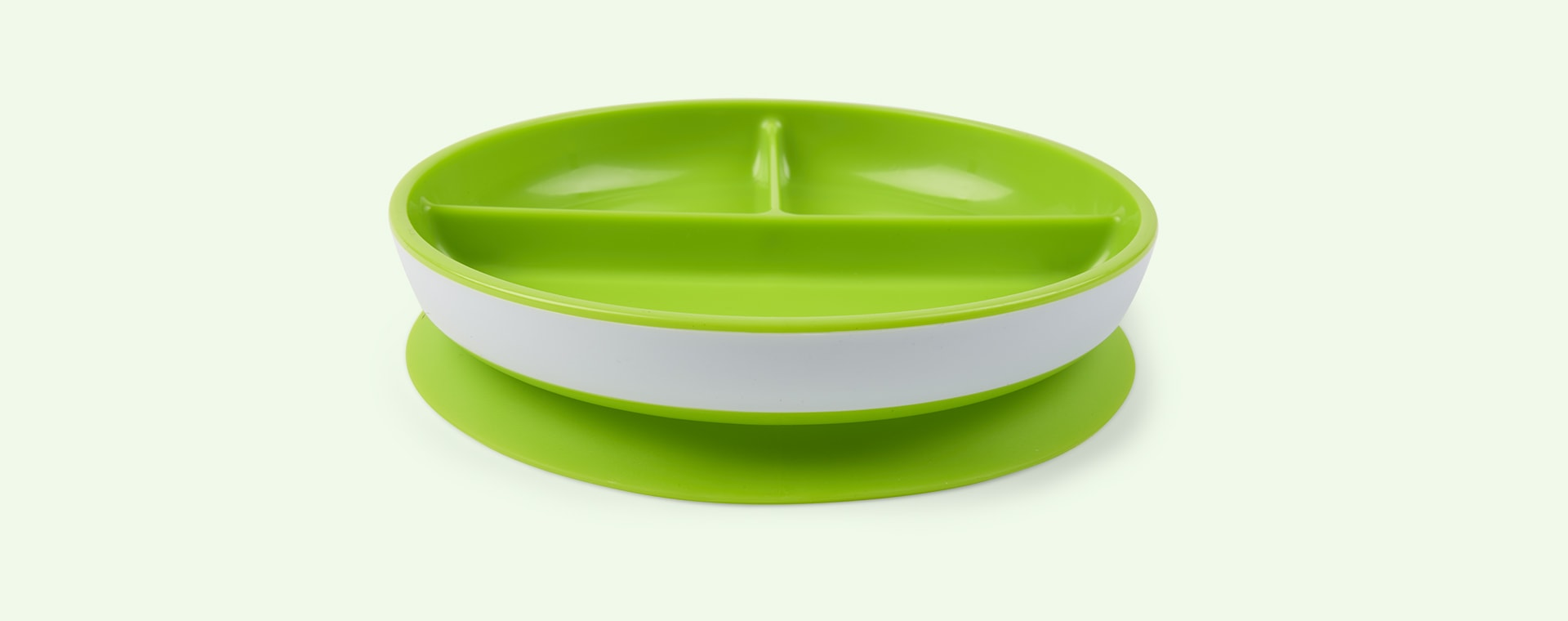 Green Munchkin Stay Put Suction Plate