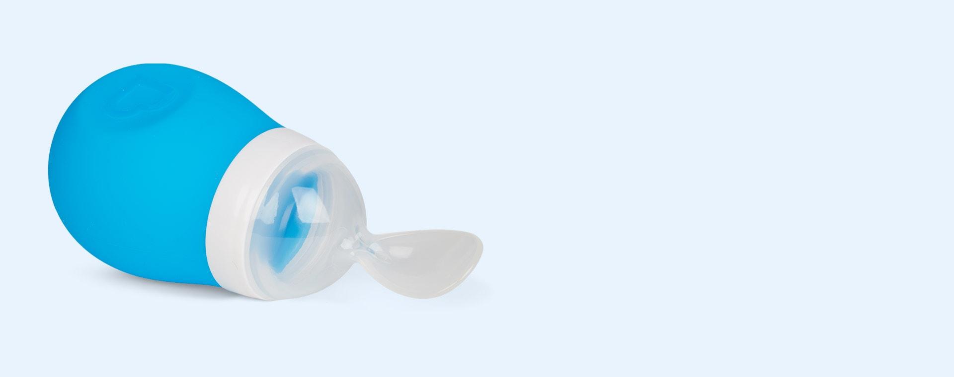 Blue Munchkin Squeeze Spoon
