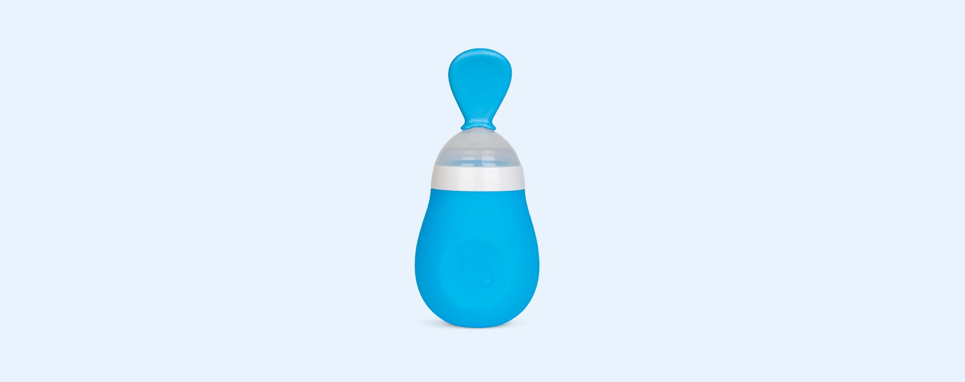 Blue Munchkin Squeeze Spoon