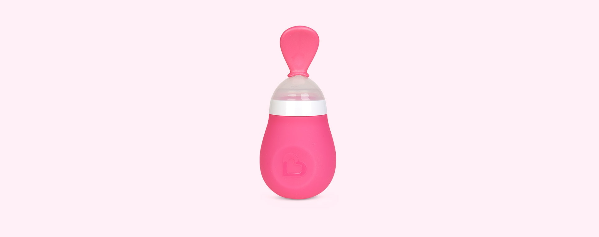 Pink Munchkin Squeeze Spoon