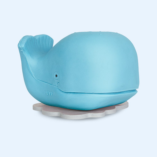 Harald Hevea Whale Bath And Teether Toy