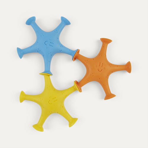 Multi ubbi Starfish Suction Bath Toys