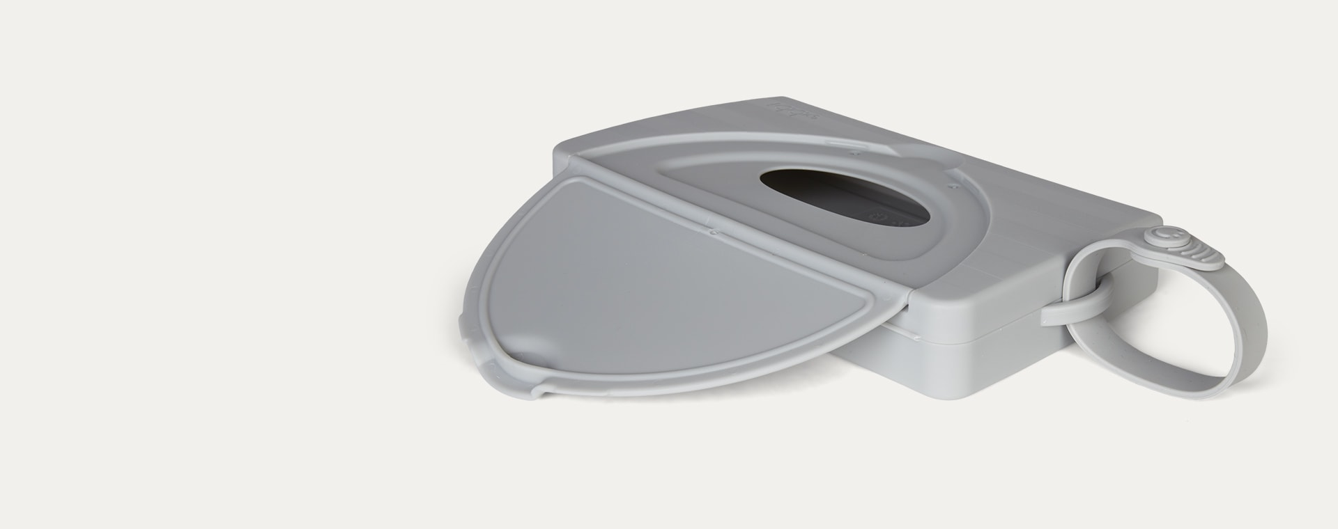 Grey ubbi On-the-Go Wipes Dispenser