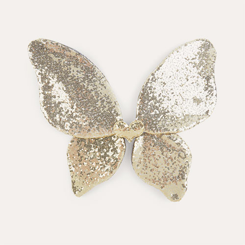 Gold Mimi & Lula Sparkle Sequin Wings