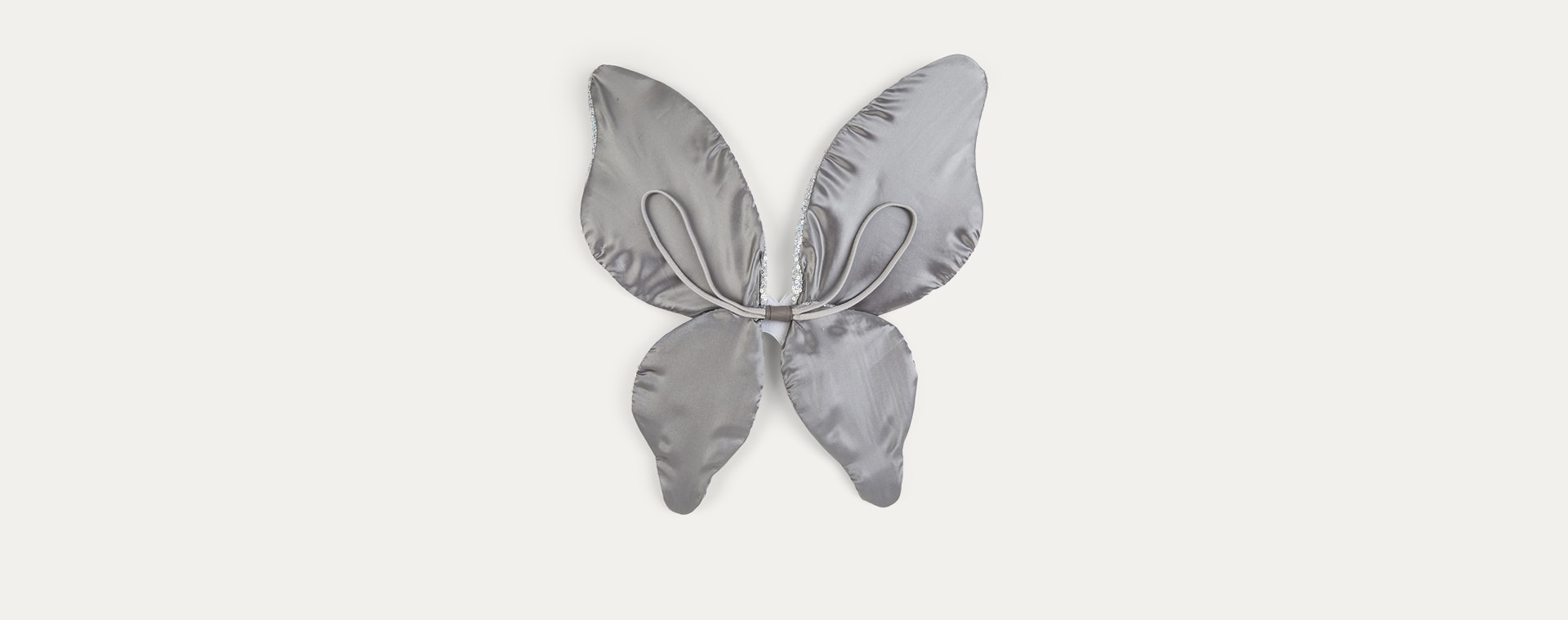 Silver Mimi & Lula Sparkle Sequin Wings