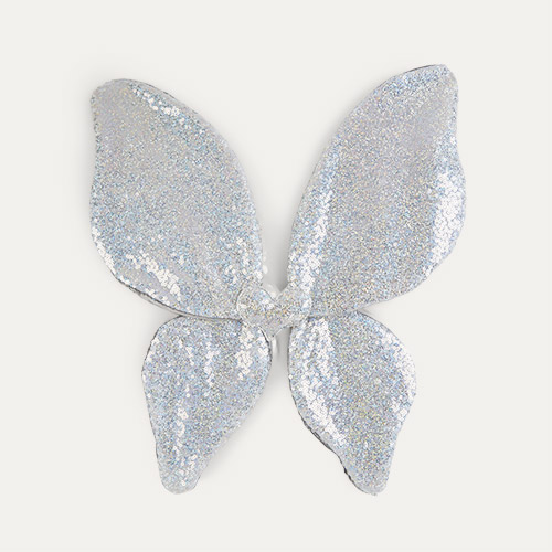 Silver Mimi & Lula Sparkle Sequin Wings