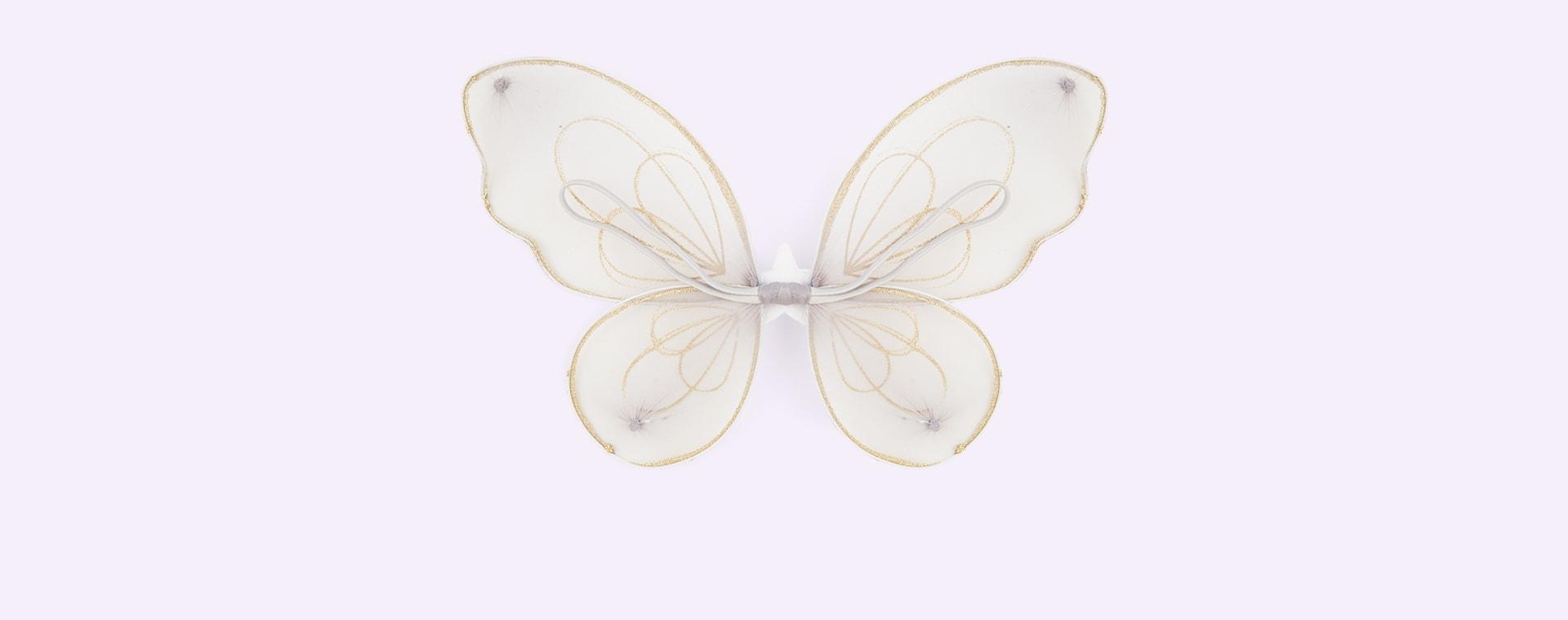 Gold Mimi & Lula Fairy Dust Sparkle Wings