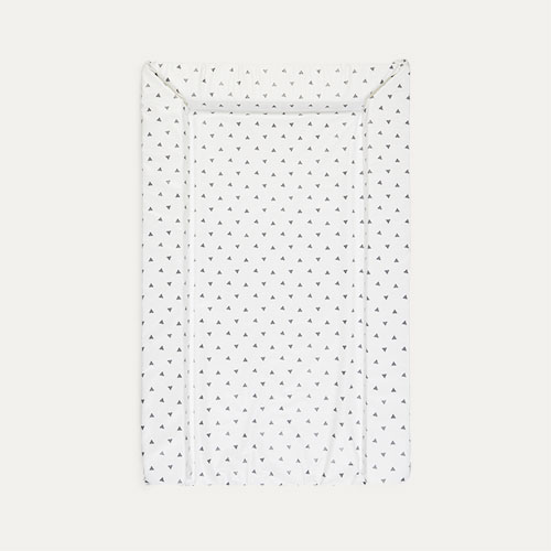 White East Coast Nursery Tiny Triangles Changing Mat