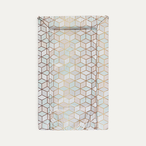 Multi East Coast Nursery Geo Rose Changing Mat