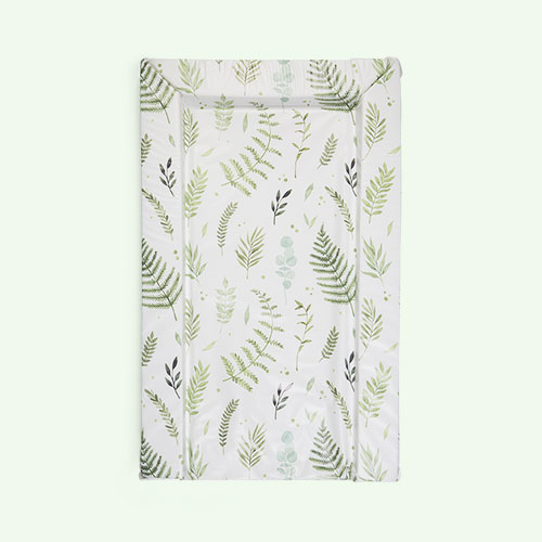 White East Coast Nursery Botanical Changing Mat