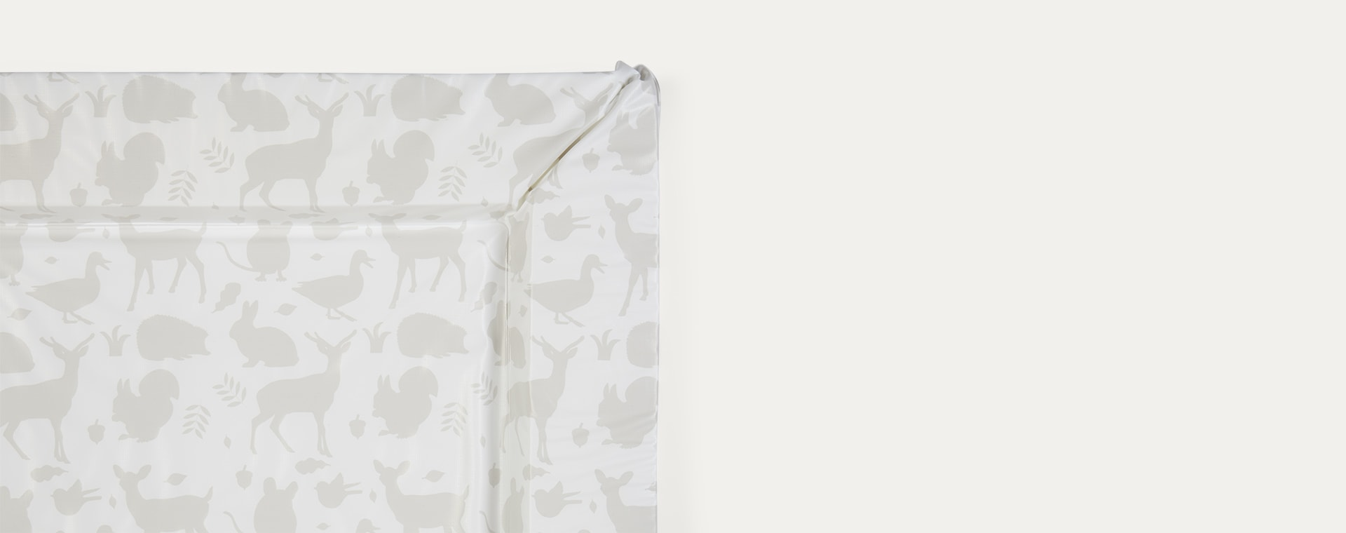 Grey East Coast Nursery In The Woods Changing Mat