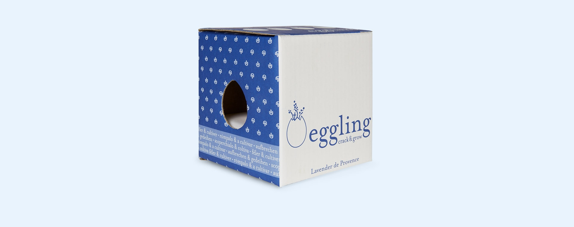 Lavender Noted Eggling Crack & Grow