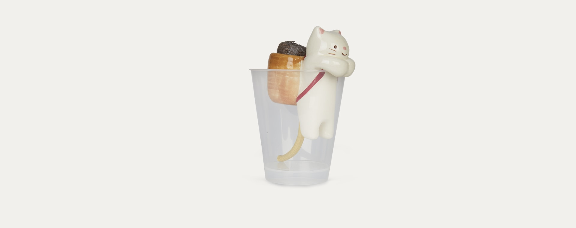 Cat Wild Strawberry Noted Shippon Animal Planter