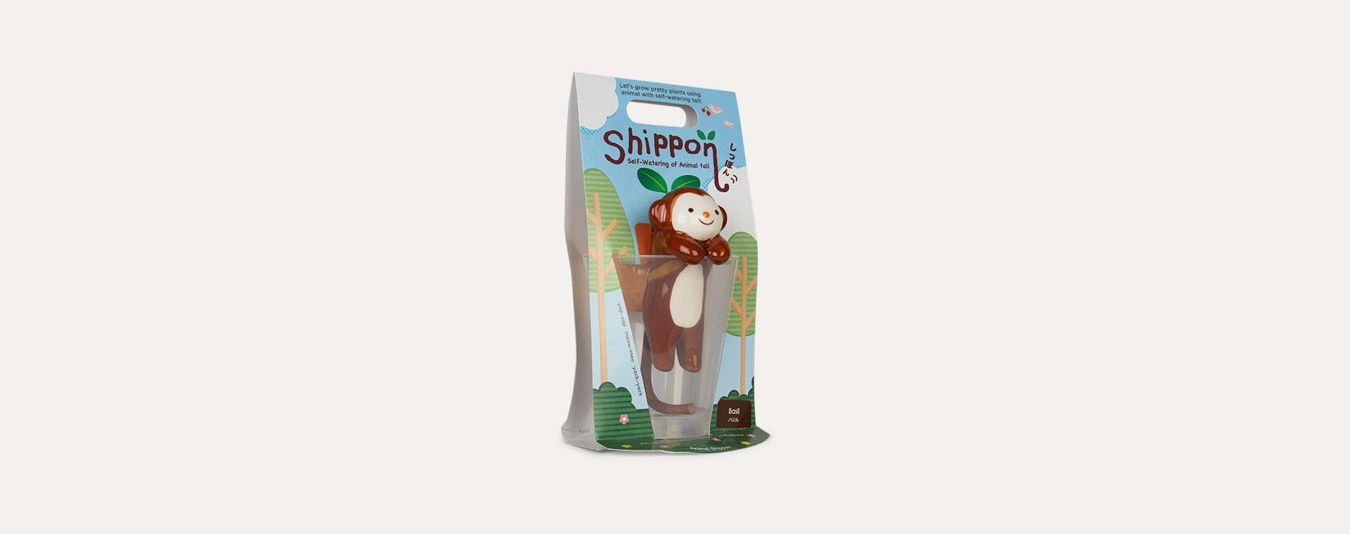 Monkey Basil Noted Shippon Animal Planter