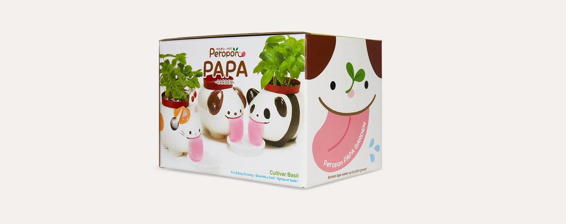 Panda Noted Papa Peropon Drinking Animal Planter