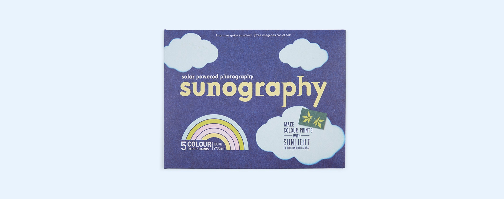 Multi Noted Sunography Colour Cards