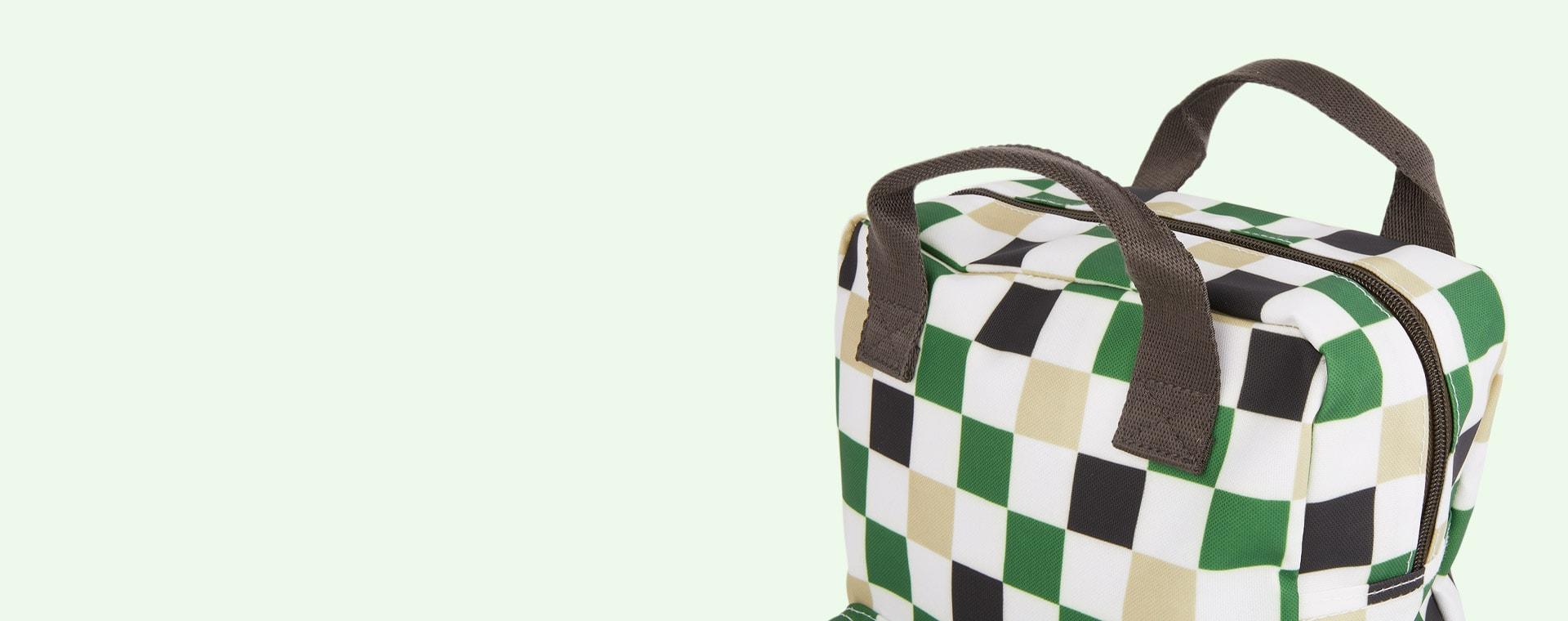 Checked Engel Medium Backpack