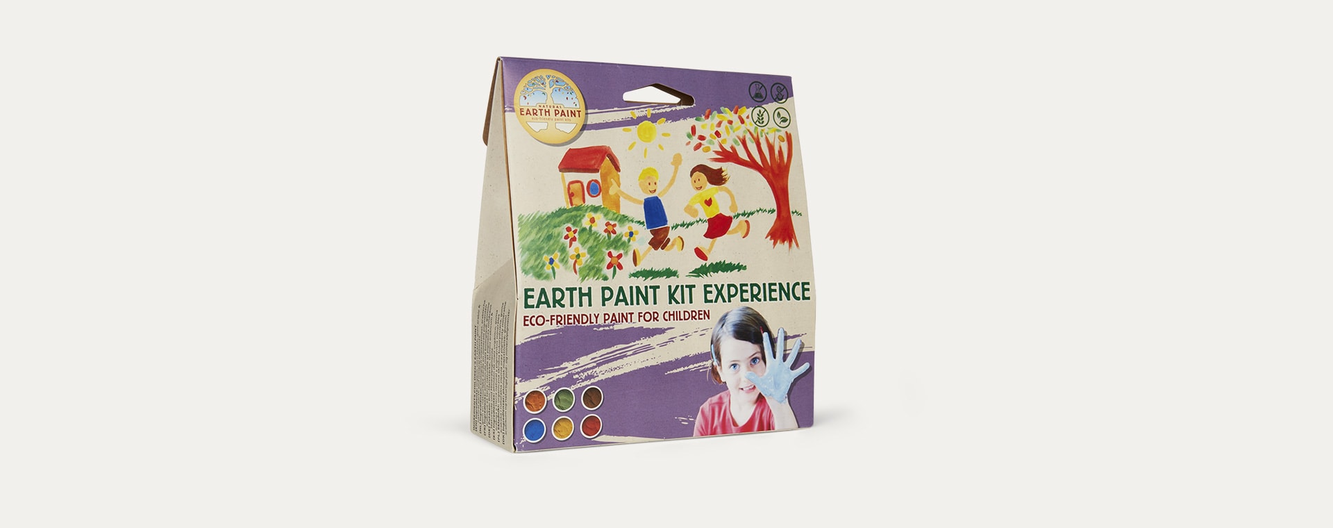 Multi Natural Earth Paint Natural Earth Paint Earth Paint Kit Experience