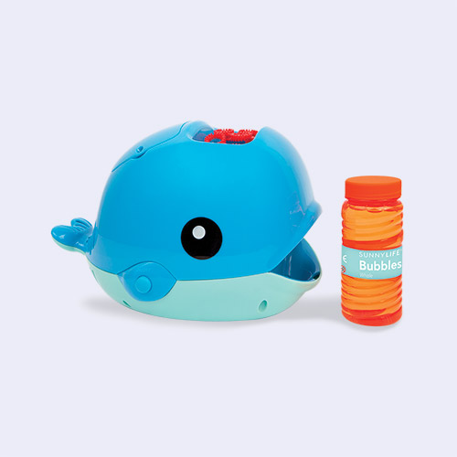 Blue Sunnylife Whale Bubble Machine