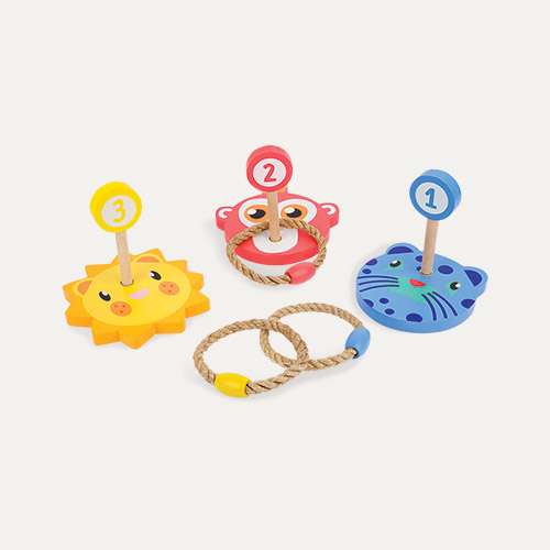 Multi Sunnylife Rings Toss Zoo Animal Set