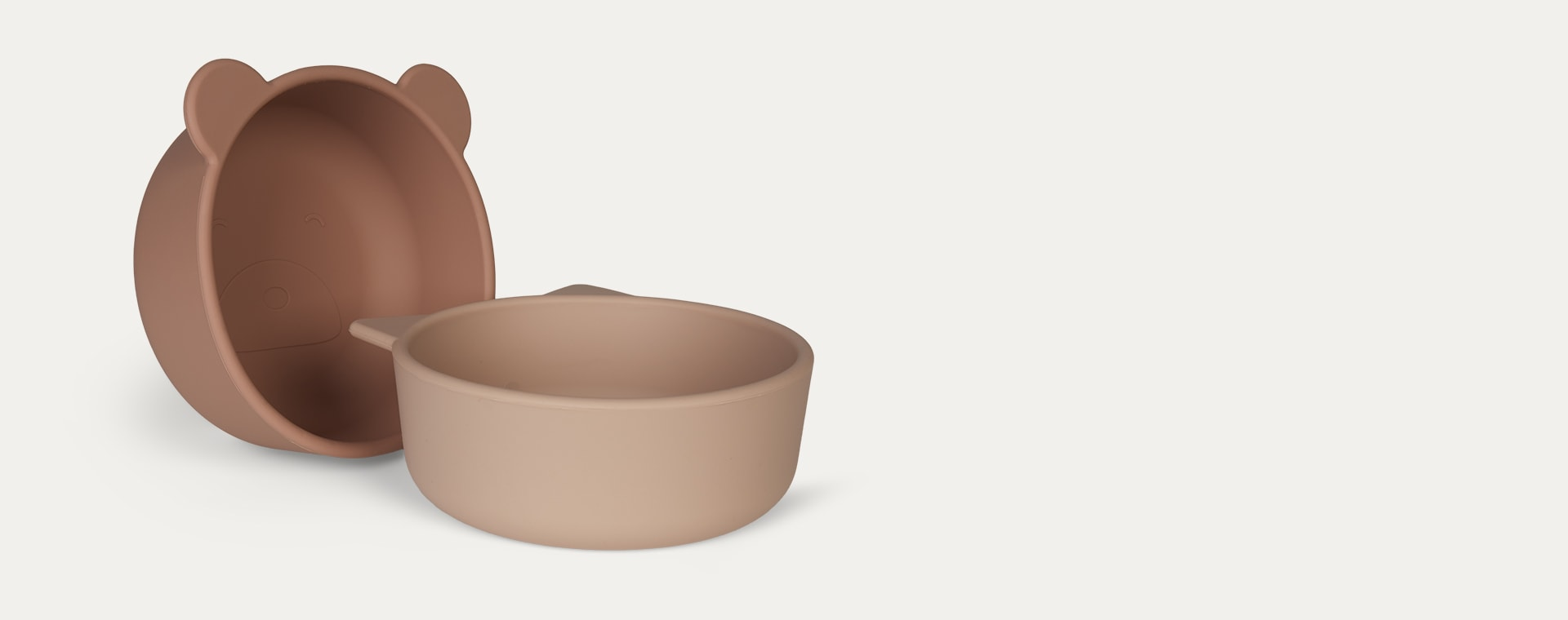 Rose Mix Liewood 4-Pack Iggy Silicone Bowls