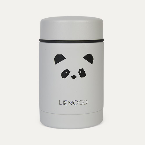 Panda light grey Liewood Nadja Food Jar