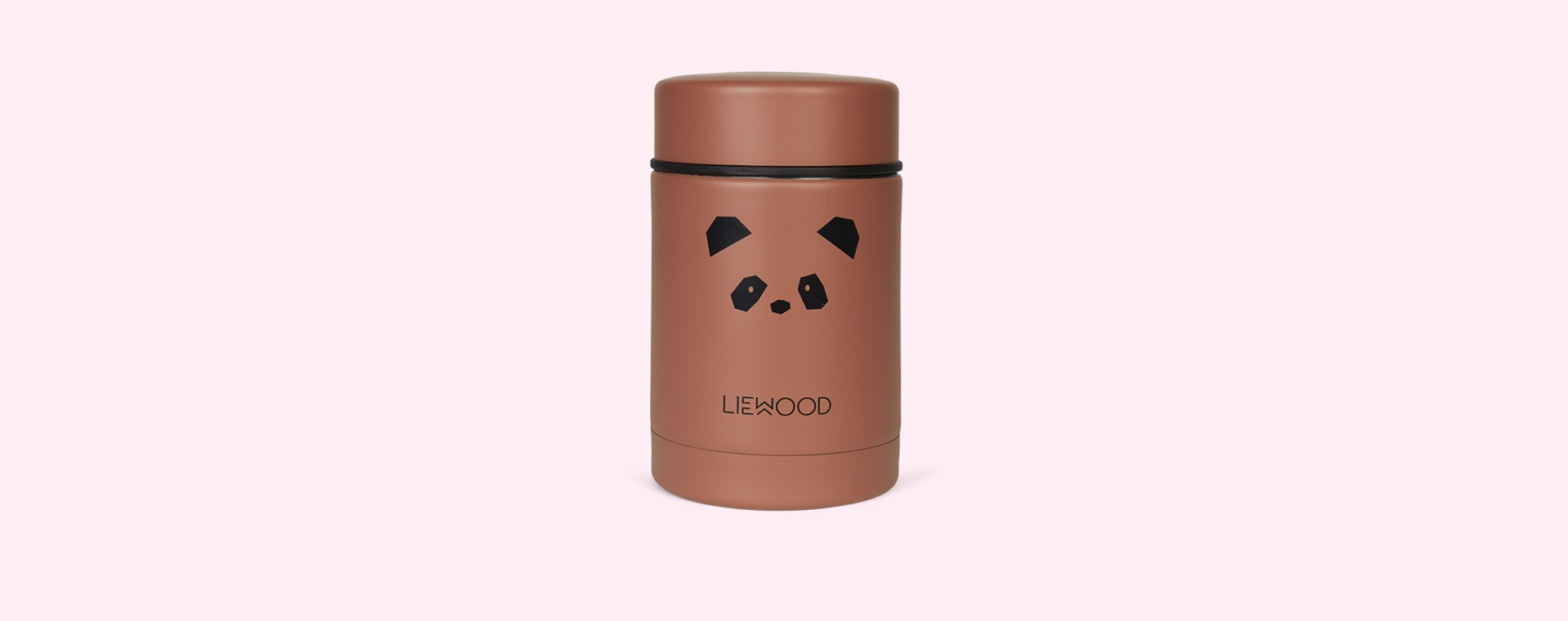 Panda Dark Rose Liewood Nadja Food Jar