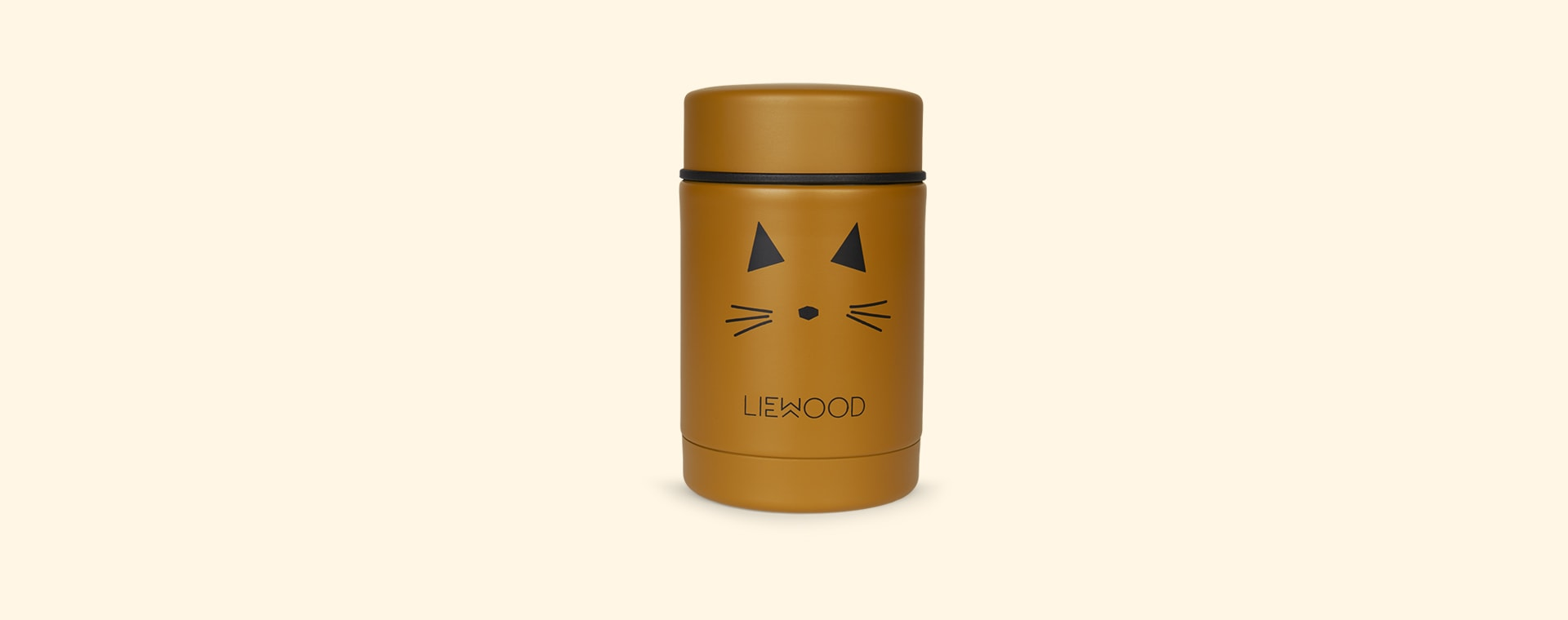 Cat Mustard Liewood Nadja Food Jar